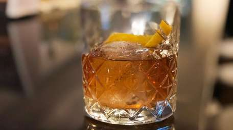 The Clyde Common old fashioned at Whisky Down