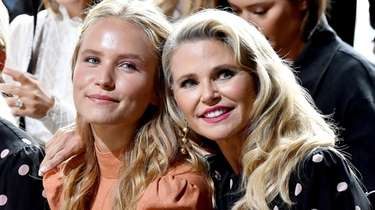 Sailor Brinkley-Cook and Christie Brinkley attend the Zimmermann