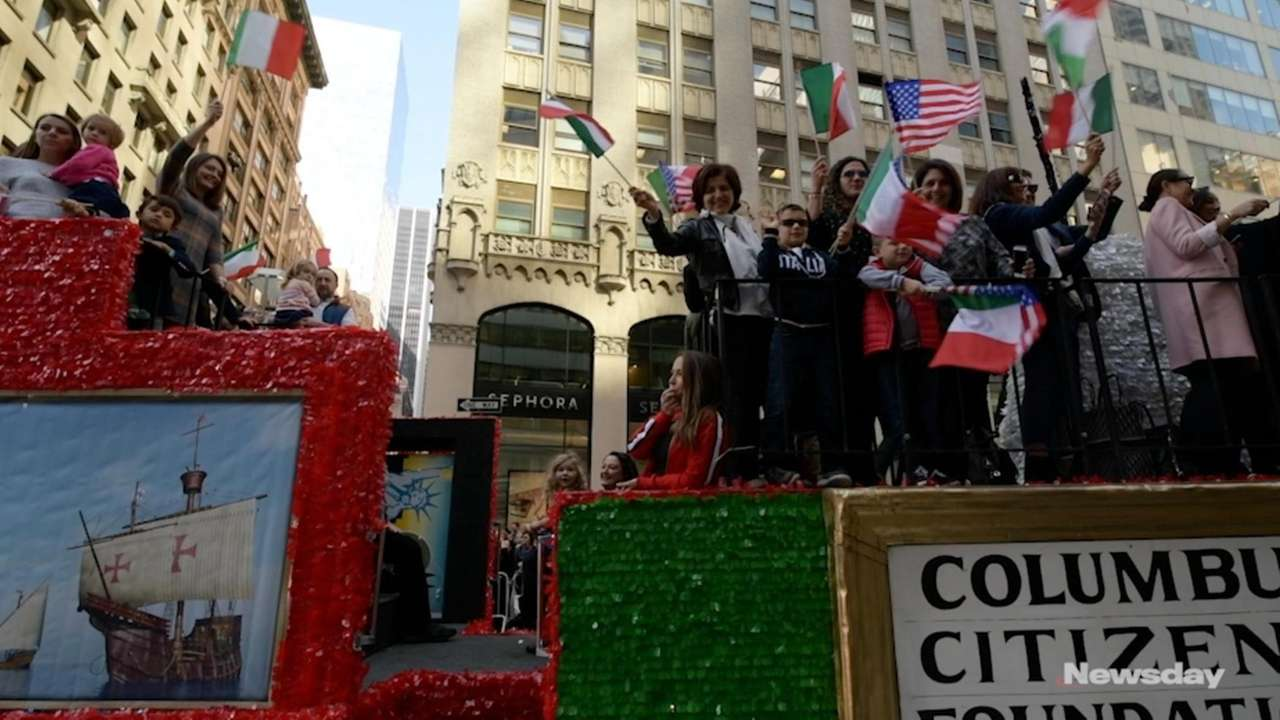Thousands turn out for NYC Columbus Day Parade