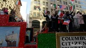 Paradegoers and participants celebrated Italian-American culture and heritage