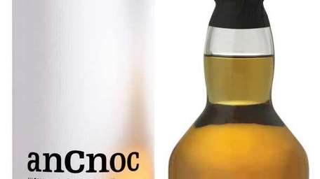 anCnoc 12 Years Old single-malt Scotch whisky.