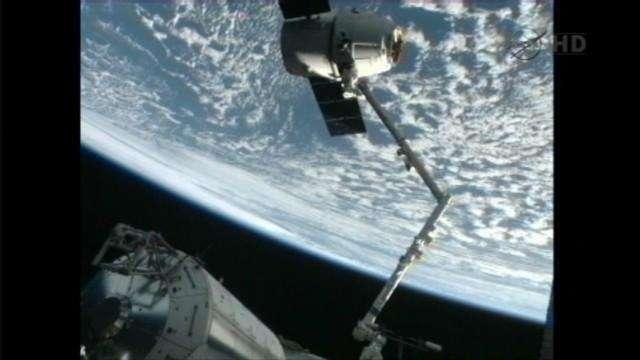 Early this morning, space station astronauts set the