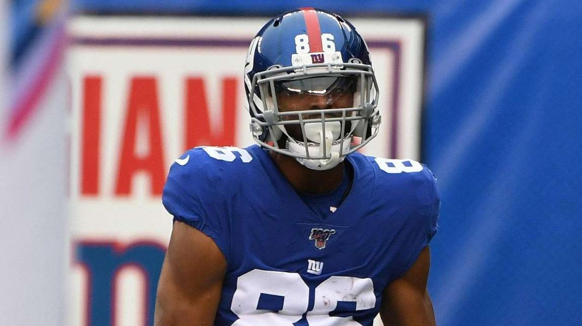 Giants' Slayton learning what it takes to play in NFL