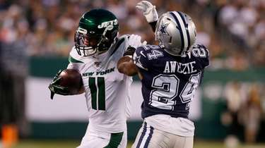 Robby Anderson made five catches for 125 yards,