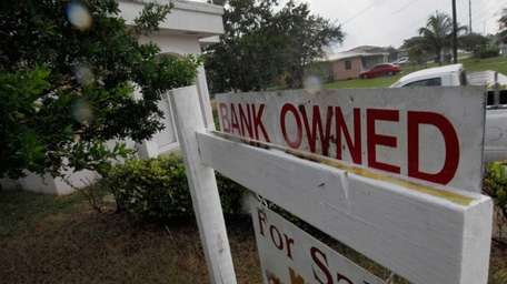 Houses in some stage of the foreclosure process,