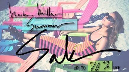 Nicole Miller merchandise is on sale June 1