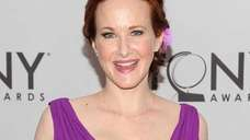 Katie Finneran at the 65th Annual Tony Awards.