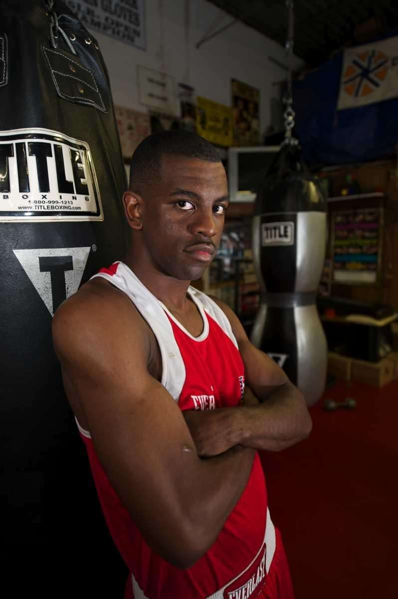 US Olympic boxer Jamel Herring, of Coram ,