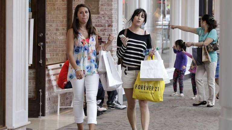 Although consumer confidence on Long Island fell during