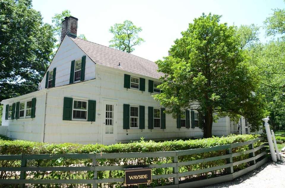 The George Underhill House in Locust Valley was