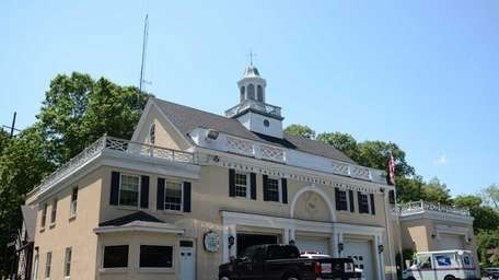 The Locust Valley Fire Department, located at 228
