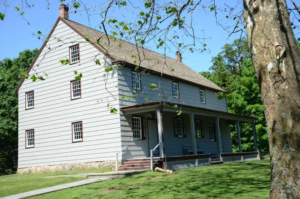 The Matinecock Friends Meeting House in Locust Valley,