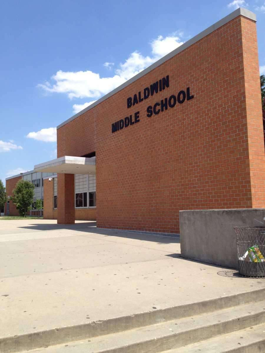 Baldwin Middle School is at 3211 Schreiber Pl.