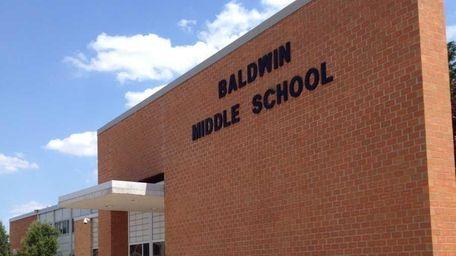 Baldwin Middle School is at 3211 Schreiber Pl.