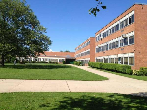 Elmont Memorial High School is located at 555
