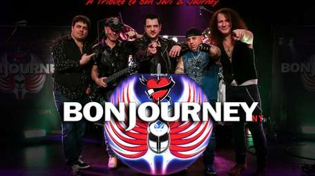 The cover band BonJourney will be playing at