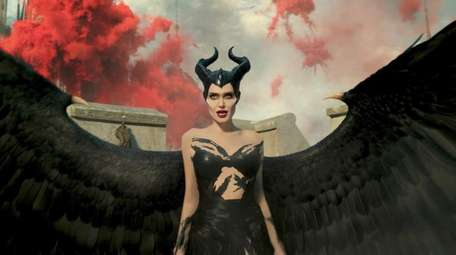 """Angelina Jolie is Maleficent in Disney's live-action """"Maleficent:"""