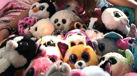 Kidsday reporter Alicia Suss-Pardo's Beanie Boos collection.