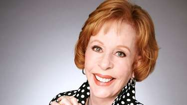 Carol Burnett will appear at Tilles Center on