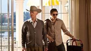 Larry Hagman and Josh Henderson star in the
