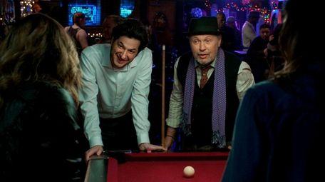 Ben Schwartz, left, and Billy Crystal star in