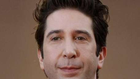 David Schwimmer arrives for the screening of