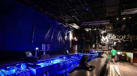 The old performance space at Mulcahy's in Wantagh