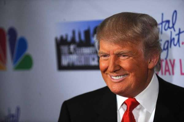 "DONALD TRUMP, business man, host of ""The Apprentice"""