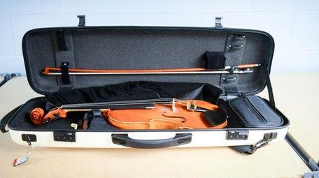 A lost violin at the new MTA/LIRR lost