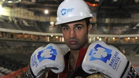 WBA Welterweight Champion Paulie Malignaggi, who calls Brooklyn