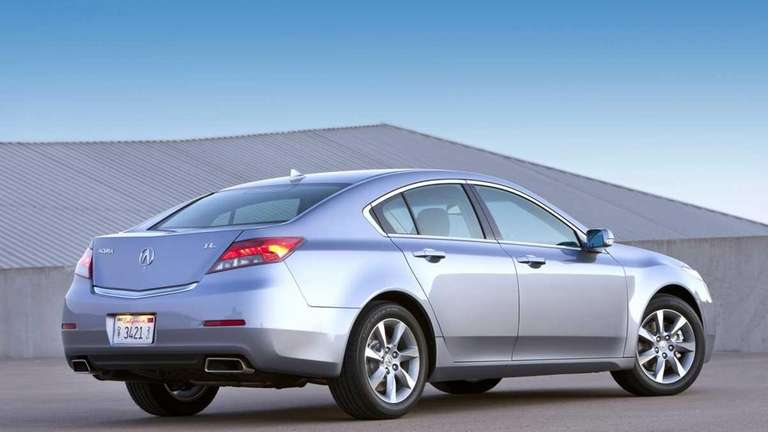 The refreshed 2012 TL is part of Acura's