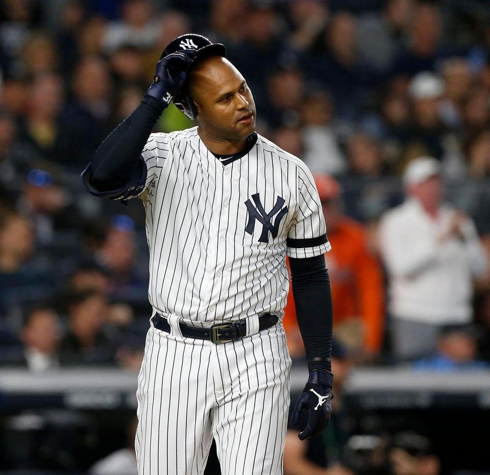 Aaron Hicks #31 of the New York Yankees