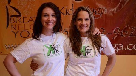 Breathe N Flow Yoga in Freeport donates proceeds