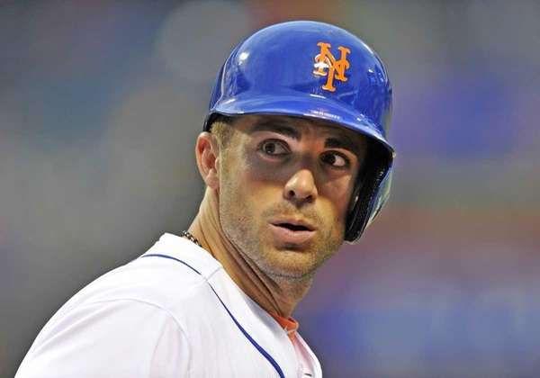 David Wright looks on during a game against