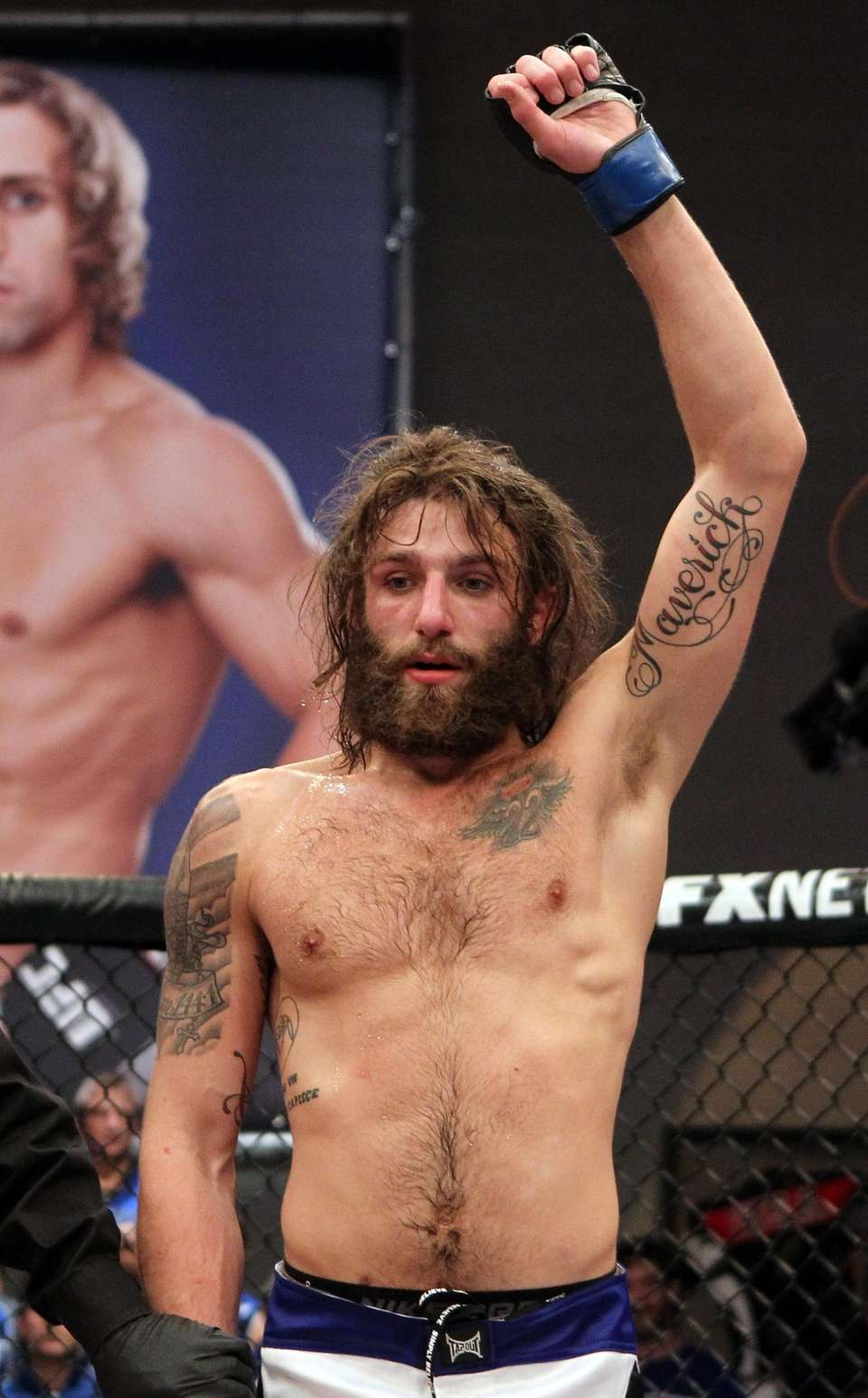 Season 15 champion, lightweights: Chiesa's father passed away