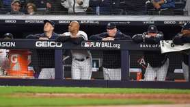 The Yankees' offense was quiet against Houston starter