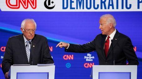 Sen. Bernie Sanders and former Vice President Joe
