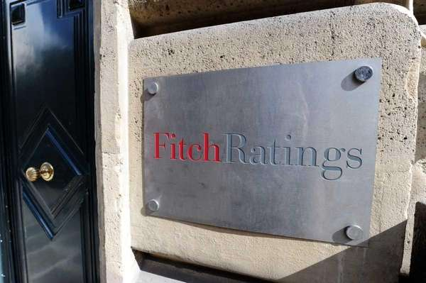 The entrance of Fitch ratings agency.
