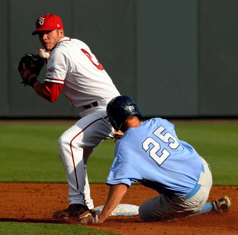 St. John's Matt Wessinger eyes first base as