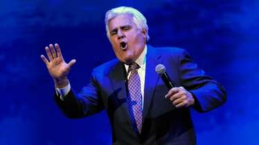 Jay Leno performs at the Vegas Strong