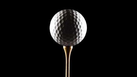 2009 -- Stock photo of a golf ball