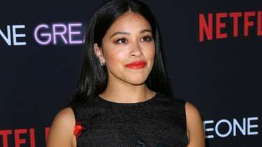 Gina Rodriguez at a special screening of