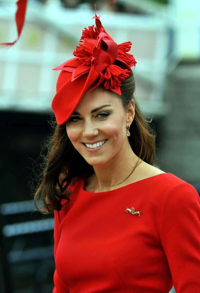 Catherine, Duchess of Cambridge, onboard the Spirit of