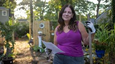 Kathy Meyers, a lifelong Ronkonkoma resident who lost