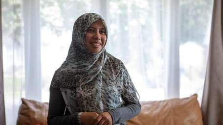Valley Stream resident Winy Haryanto, a Muslim woman