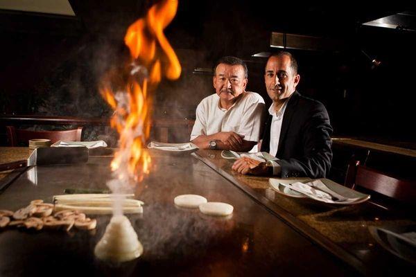 Shiro of Japan restaurant owners Hiro Ishikawa and