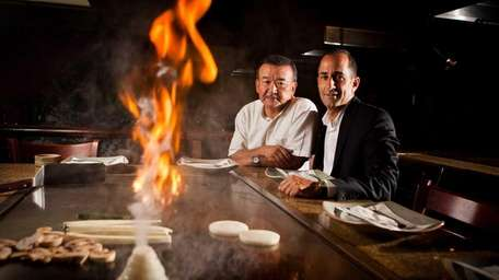 Shiro of Japan restaurant owners Hiro Ishikawa and