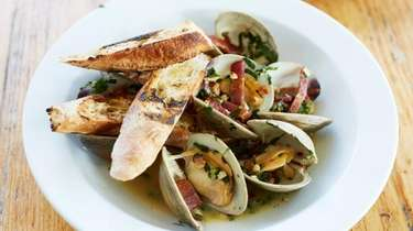 The chef has a way with littleneck clams,