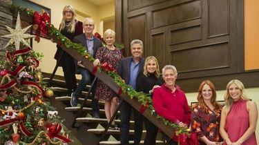 "HGTV's ""A Very Brady Renovation: Holiday Edition"" that"