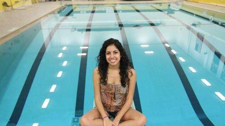 Jessica Campo, a senior at Sachem High School